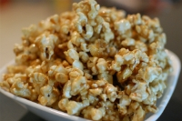 Homemade Caramel Popcorn